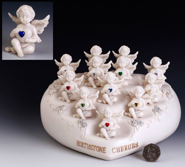 Birthstone Cherubs