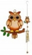 Single Owl windchime