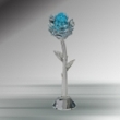 Crystal Blue Rose