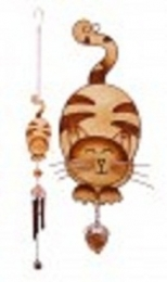 Ginger Cat windchime